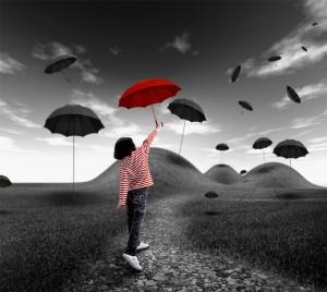 ombrello rosso monticelli