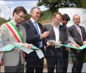 Inaugurazione di Bagnore il 25/7/16: sindaci geotermici e Rossi sempre con Enel